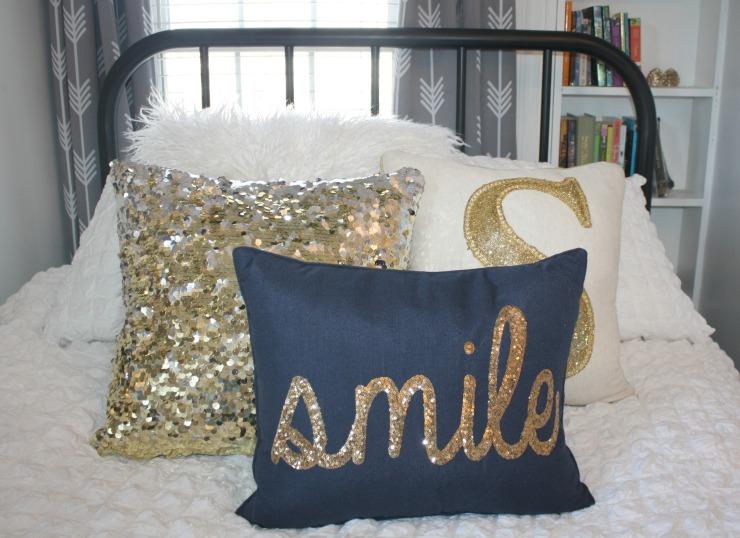 pillow close up