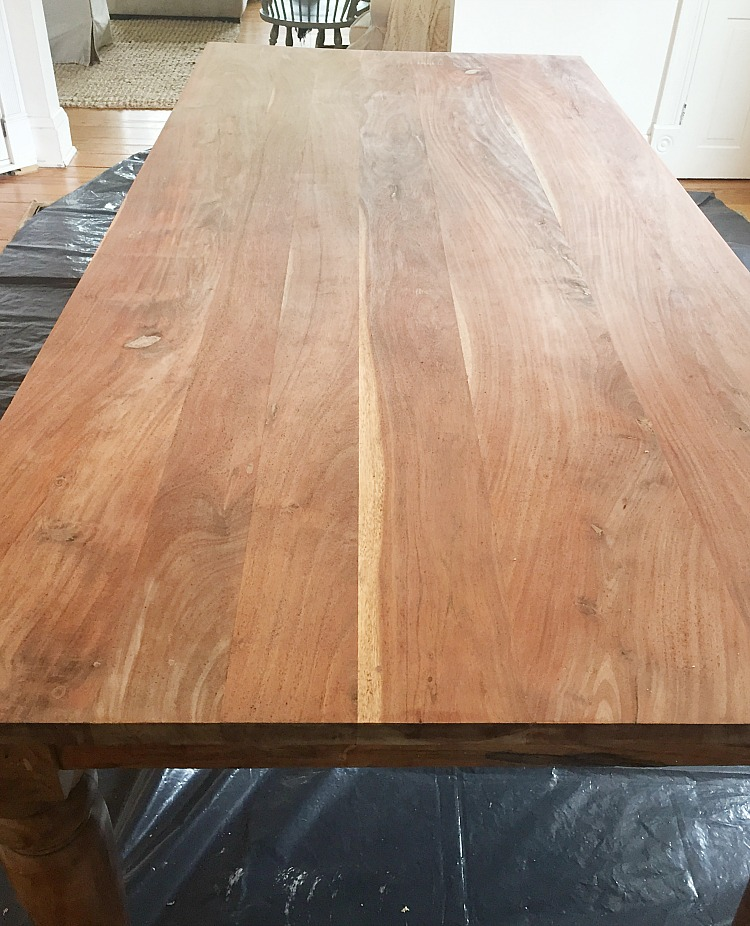 Dining Table Re Do Angieburke